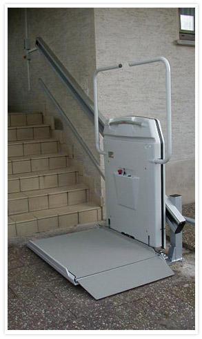 Straight Inclined Platform Lift