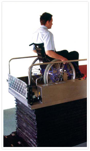 Portable Platform Lifts - Wheelchair Lift - Innovate Lifting