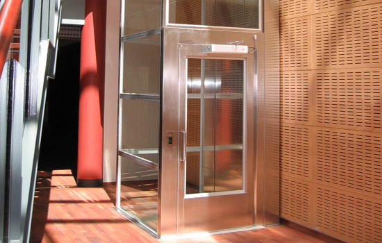 Stainless Steel Glazed Platform Lift